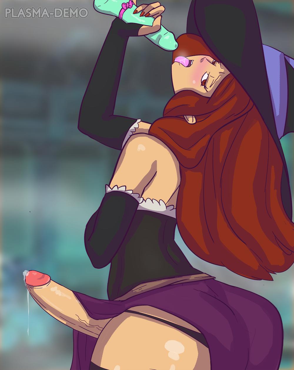 dragon's crown sorceress Starfire has sex with beast boy