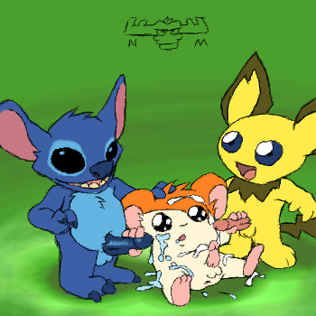 stitch and experiment lilo 420 To love ru momo popsicle