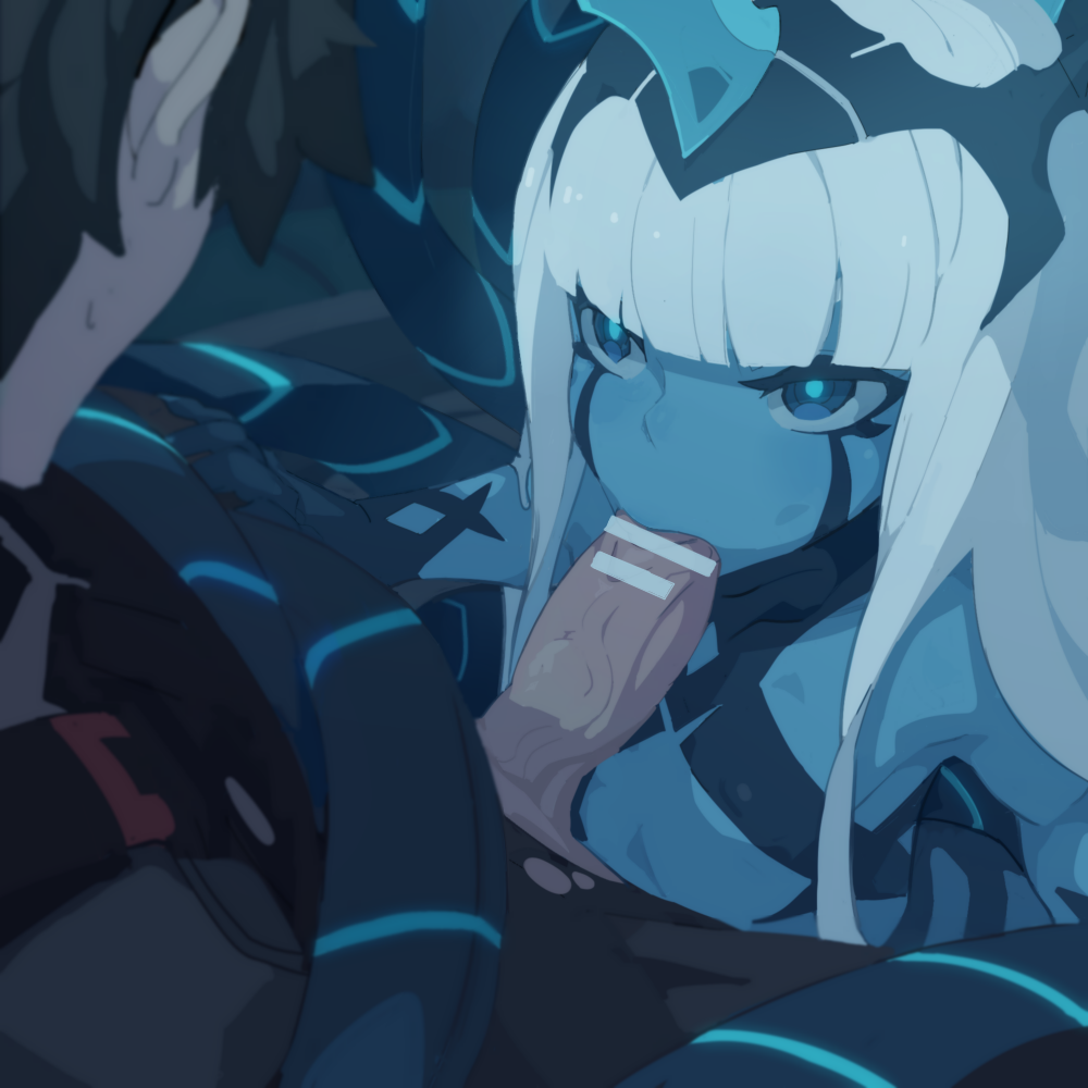 franxx hiro and darling the Hollow knight hornet