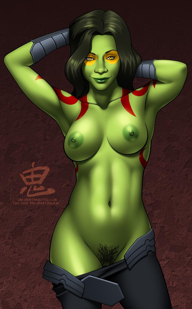 the galaxy hentai of guardians gamora Dragon ball super bulma boobs