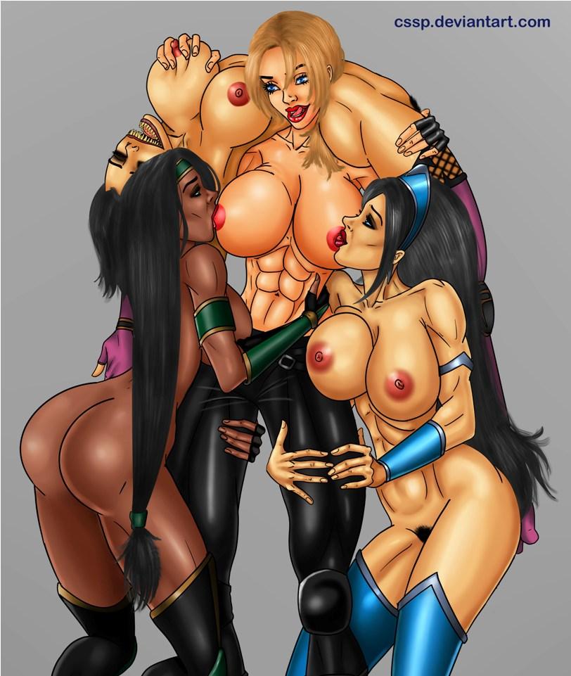 mortal kombat nude x kitana Is frisk a girl or boy