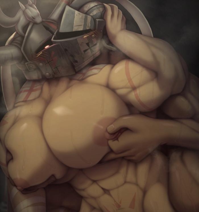 have do holes men nipple Flower knight girl h scenes