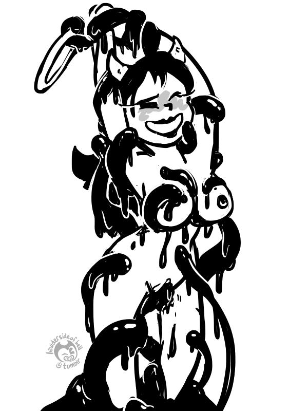 ink bendy and angel the alice the machine Big hero 6 nude comic