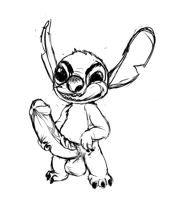 and pleakley stitch from lilo The_walking_dead