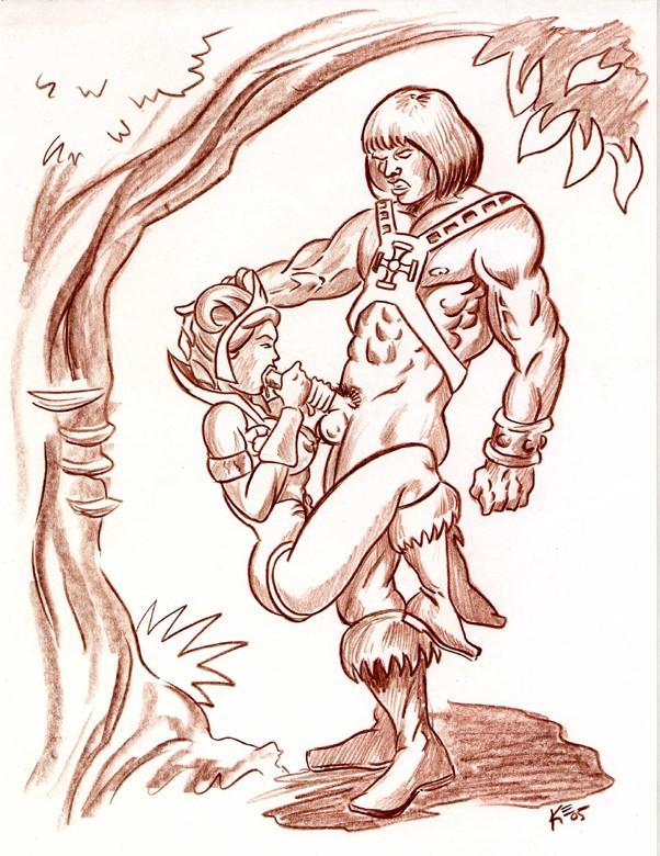 he-man Midnight boku no hero academia