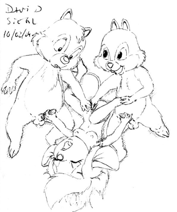 gadget chip dale and hentai Legend of zelda rule 63