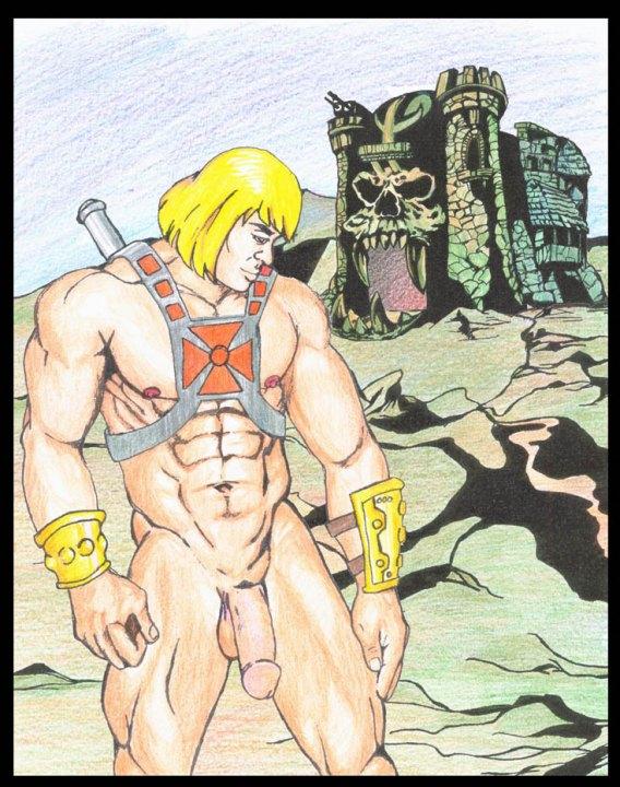 he-man Hunter x hunter bisky true form