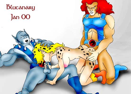 lion thundercats o and cheetara Clash of clans xxx porn