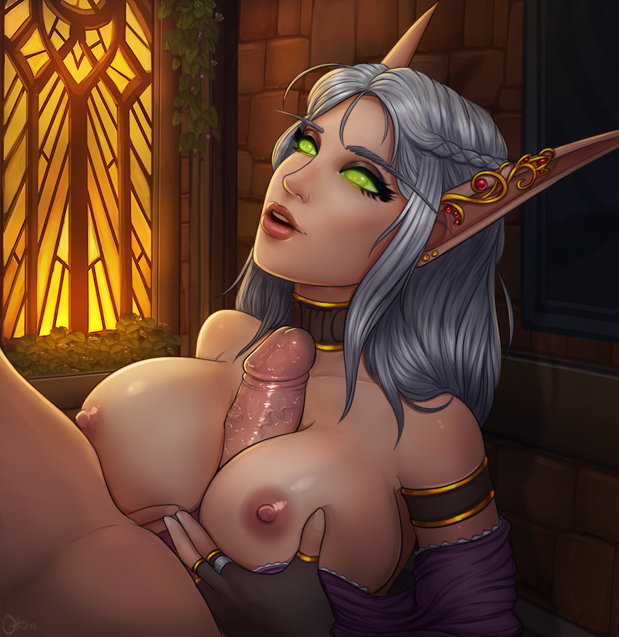 warcraft world of elf blood hentai @be_kon_box