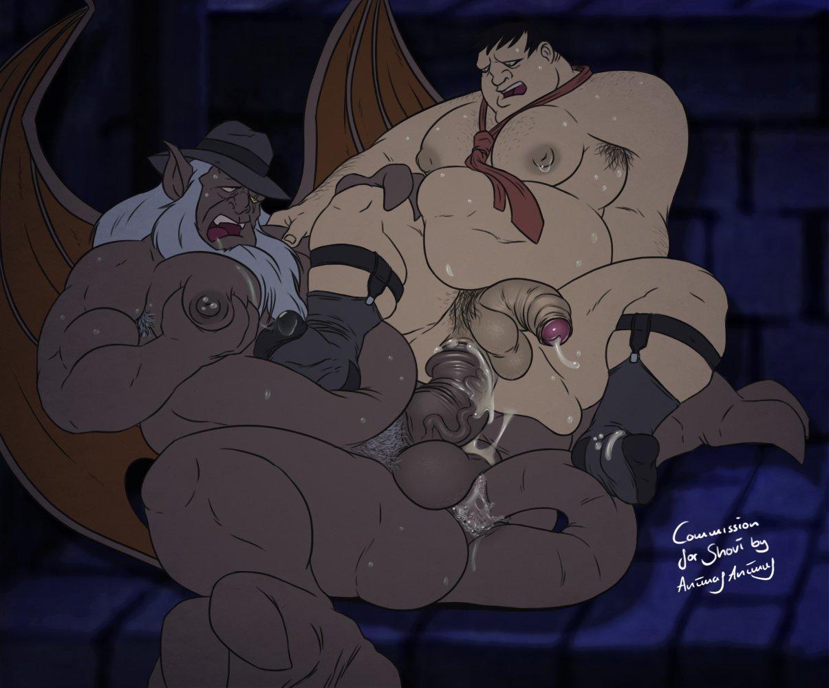 holes men do nipple have Ojousama wa h ga osuki the animation