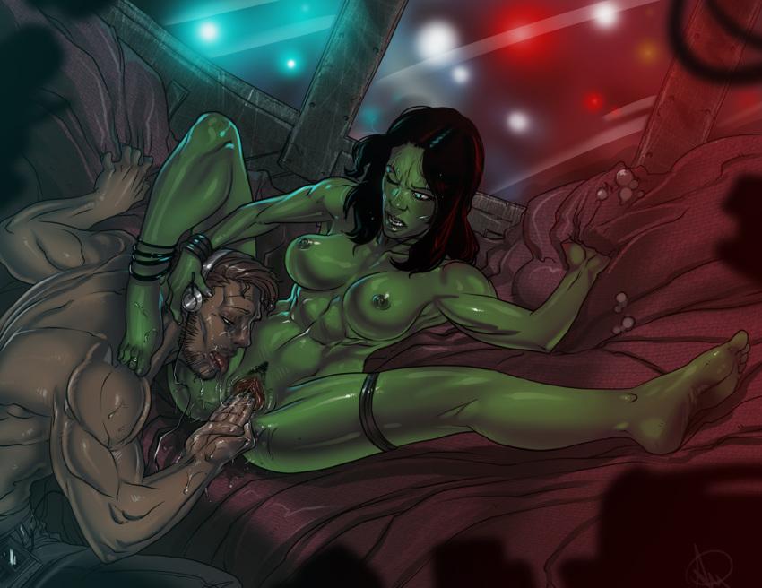galaxy gamora of hentai the guardians Dragon age inquisition male qunari