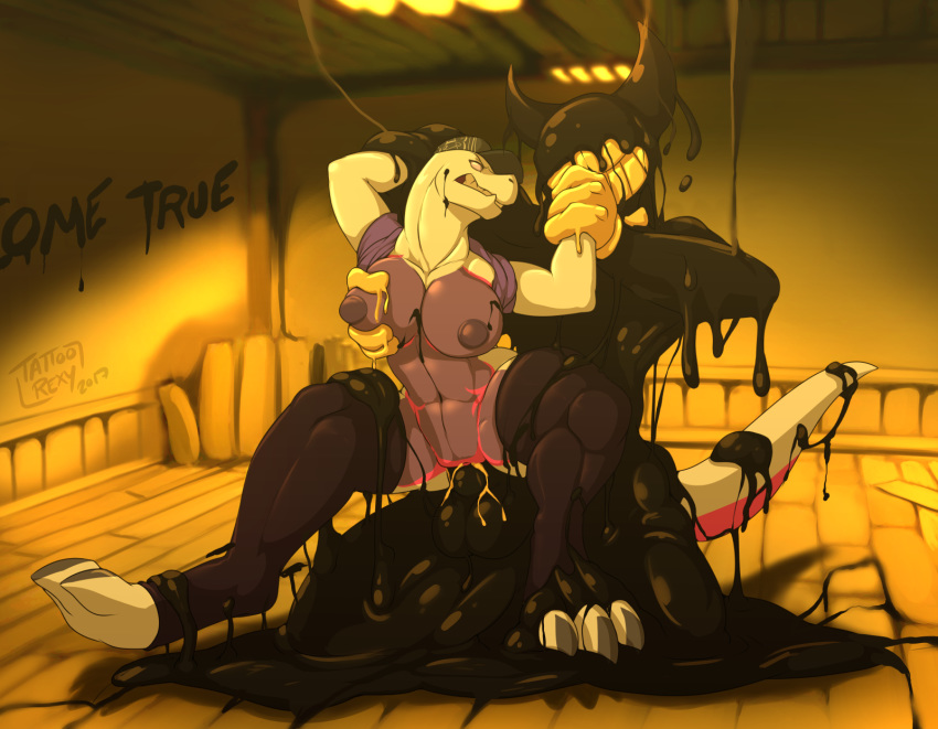 images bendy bendy ink the of from machine and My little pony princess ember