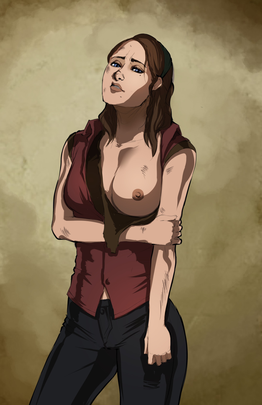 of the ellie last us ass Rwby pink and brown hair
