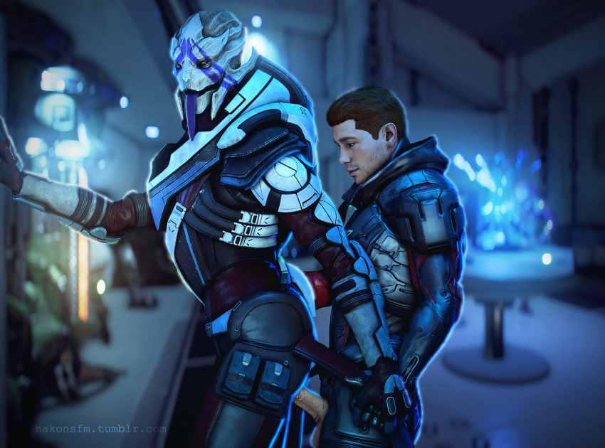 turian mass effect female andromeda Brandy and mr whiskers sex