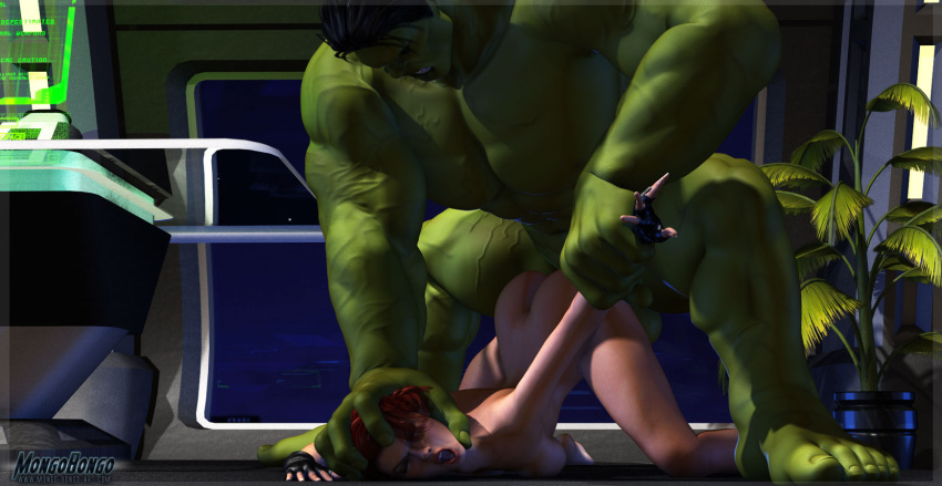 hulk hentai widow and black Nyarko san crawling with love