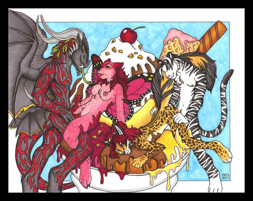 parade elephants pink on crossover Eroge h mo game kaihatsu zanmai