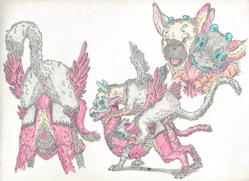 last guardian the horns trico Trials in tainted space rahn