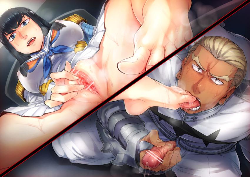 la kiryuuin (kill satsuki kill) Hank hill is a dick