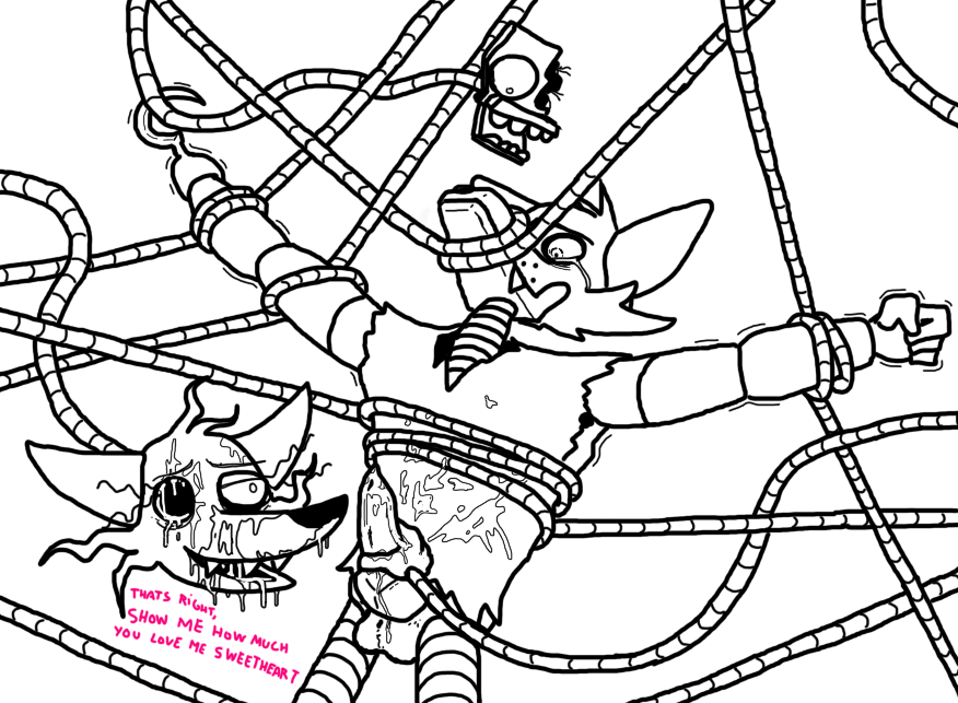 foxy x mangle fnaf comic Adventure time engagement ring princess