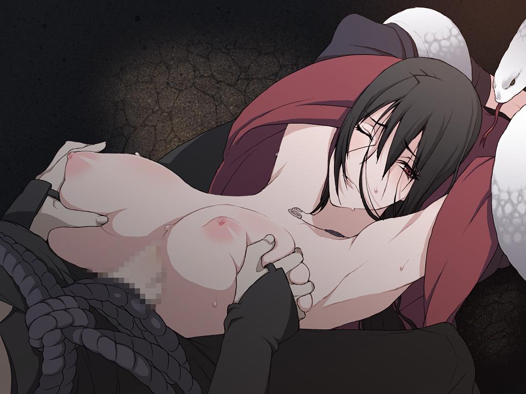and sasuke naruto fanfiction fem Kasshoku cool bitch hitozuma no seiyoku kaishou ~kondo wa umi de sex lesson!?~