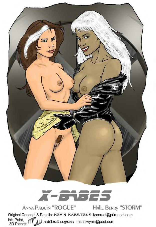x-men anime storm The loud house girls naked