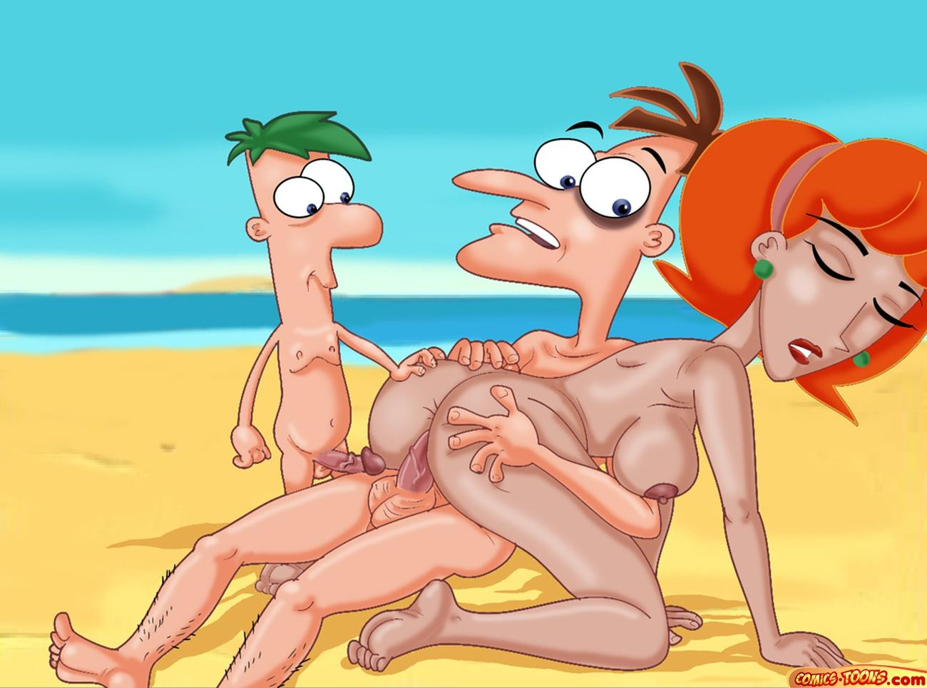 y phineas ferb porno comic Sitara watch dogs 2 nude