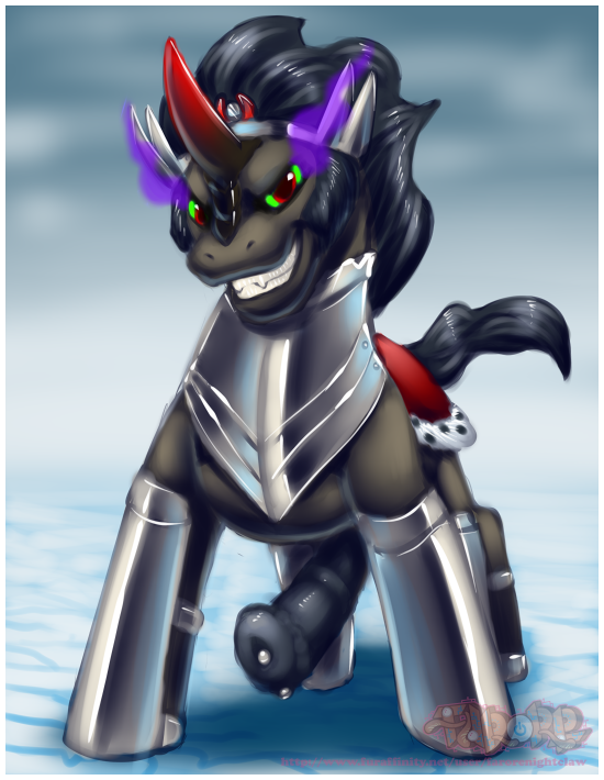 sombra and fluttershy king mlp Dark souls 2 glass knight