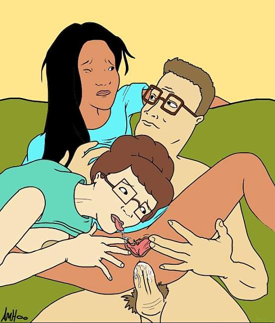 cartoon of porn king hill the Star wars ahsoka x barriss