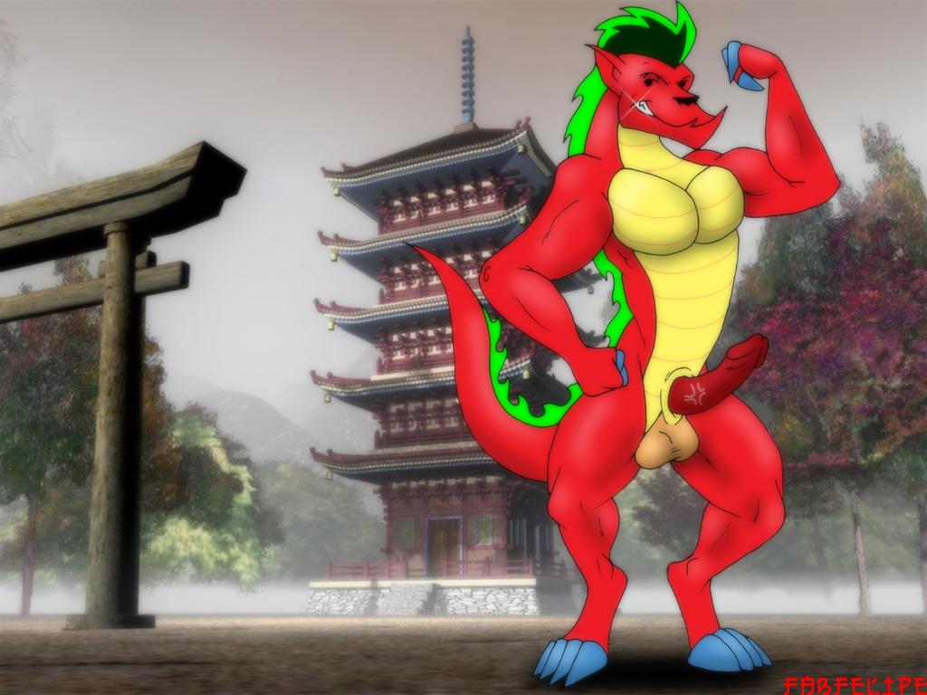 haley long jake dragon american Lime-iro ryuukitan x